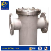 basket/pipe filter housing